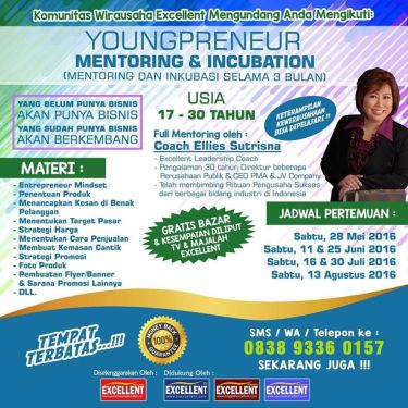 YOUNGPRENEUR - MENTORING & INCUBATION